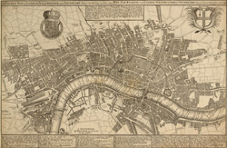 A pocket map of London, Westminster and Southwark with ye new buildings to ye Year 1739